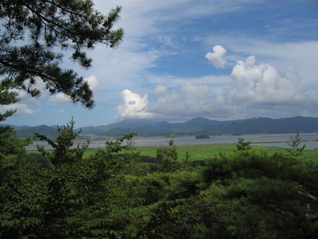 천일각에서 보는 풍경(남해)